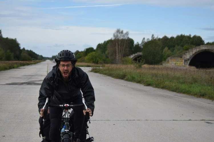 bicycle touring estonia