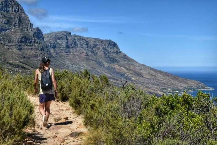 table mountain hiking