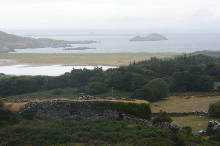 La vista da Caherdaniel