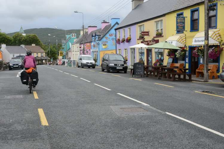 ring of kerry cicloturismo Sneem