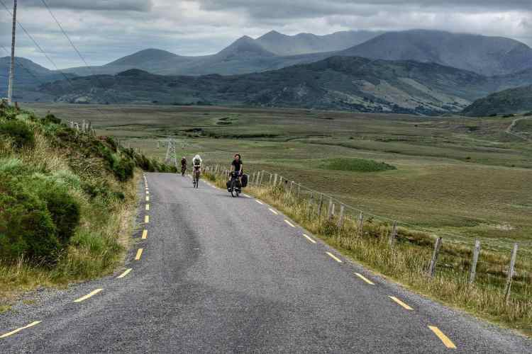 Ring Of Kerry corsa in bicicletta