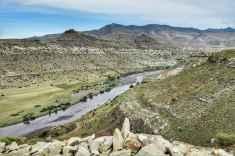 Lesotho Orange Senqu River