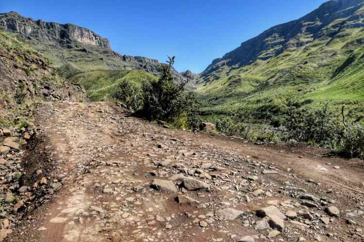 Sani Pass road condition