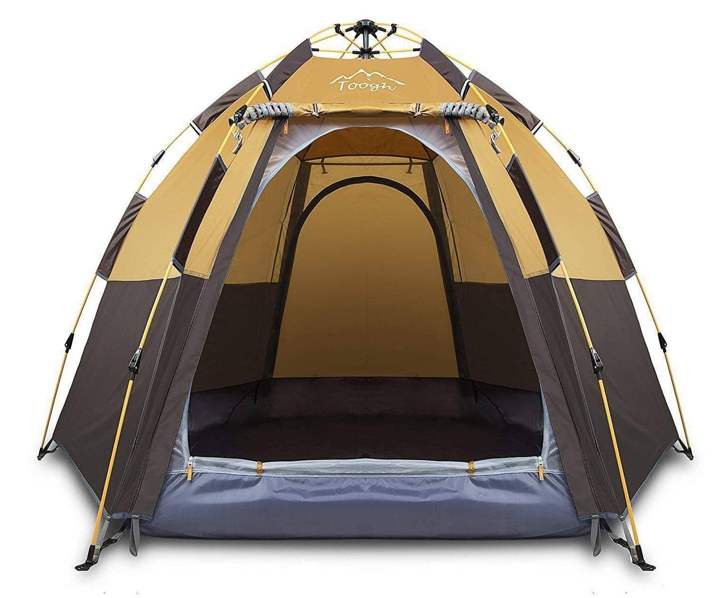 3 4 Person Family Tent Double Layer Instant Setup Protable
