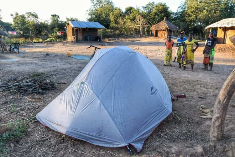 camping mozambique
