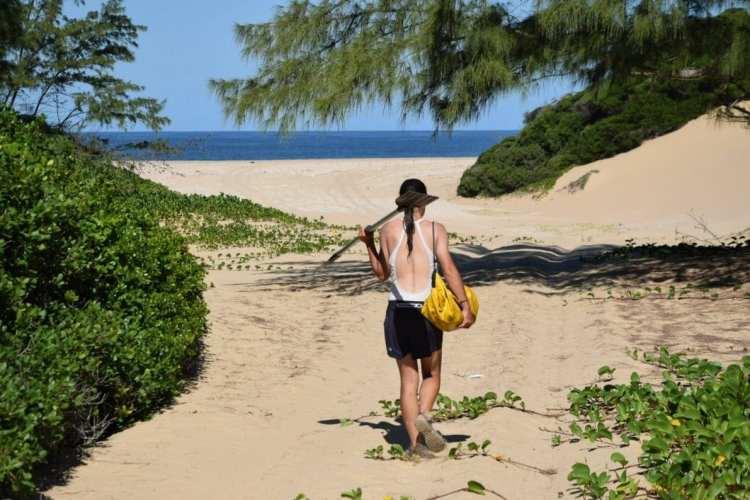 bilene beach mozambique