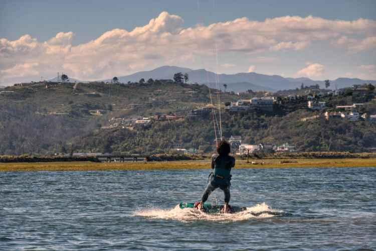 kitesurfing knysna
