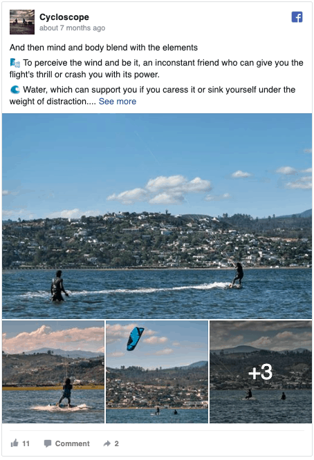 Kitesurfing Facebook