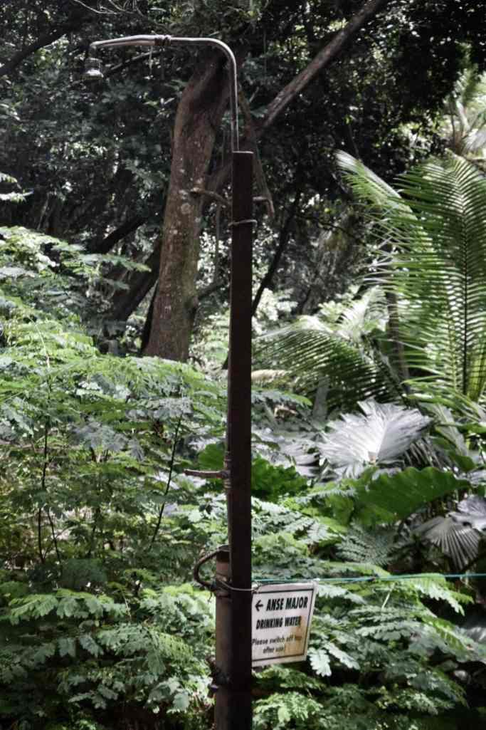 doccia pubblica seychelles