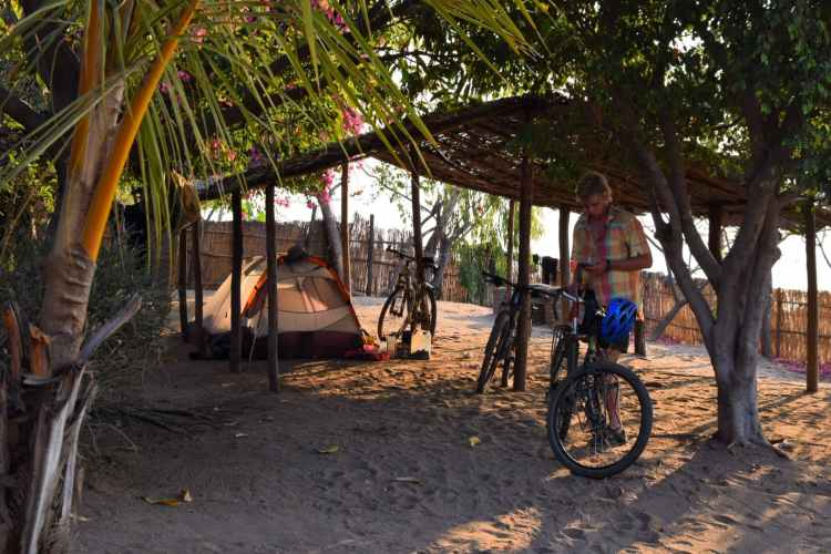 camping Cape Maclear Monkey Bay