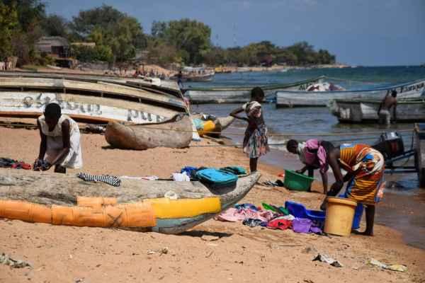 backpacking cape maclear beach Malawi
