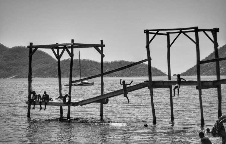 Cape Maclear Lake Malawi Swimming