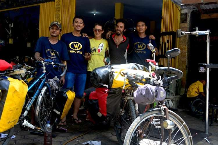 cycle touring community in Indonesia