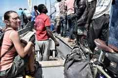 Gatting down Ilala ferry