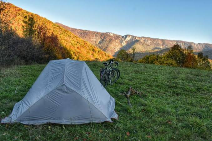 cycle camping in europe