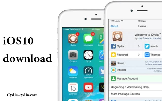 how to get cydia ios 10