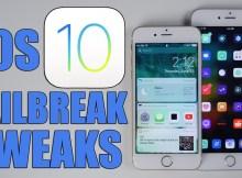 tweak tương thích với iOS 10
