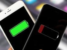 sử dụng pin trên iPhone
