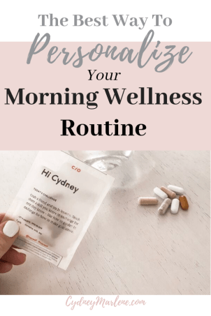 personalize your morning routine