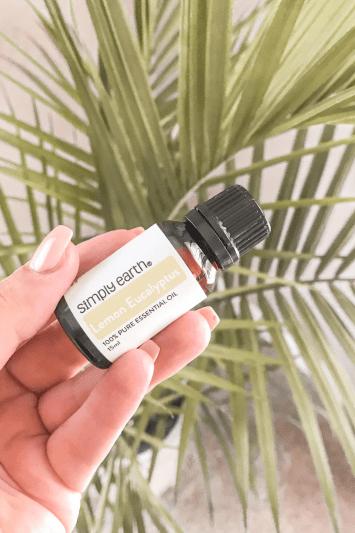 simply earth lemon essential oil