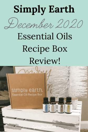 Simply Earth Essential Oils December