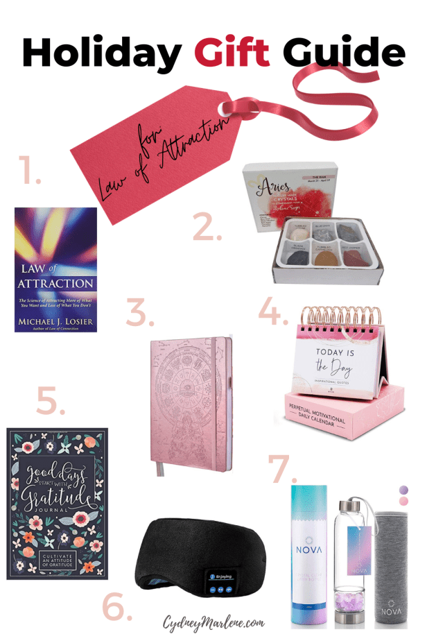Gift Guide #4: Law of Attraction/Spiritual Gifts