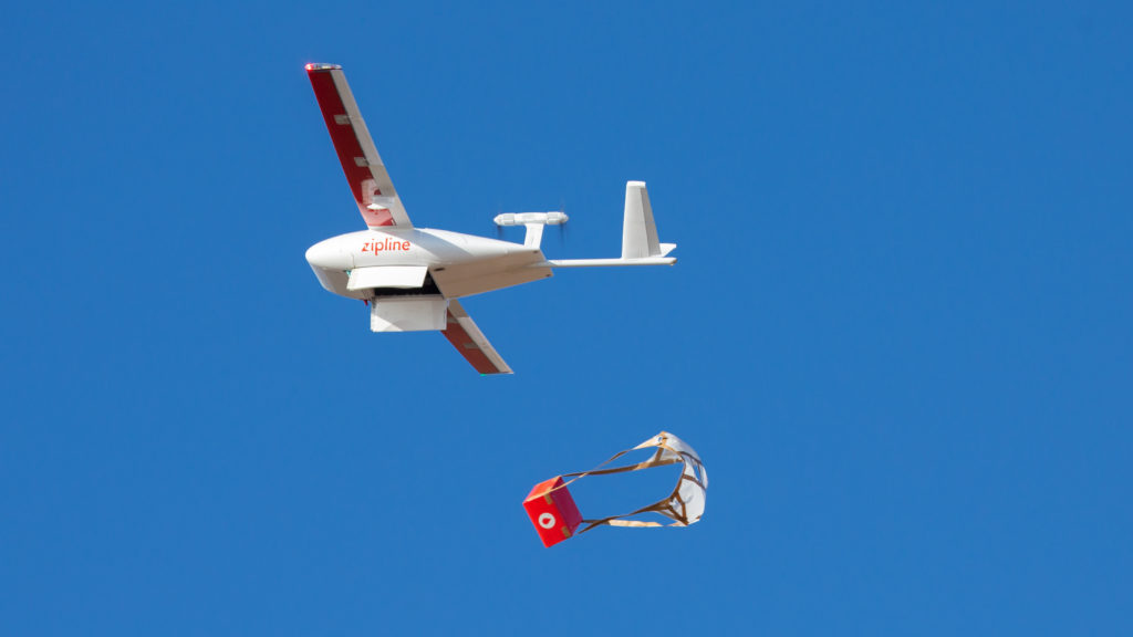 Here's why this hospital is using drones to deliver covid-19 supplies