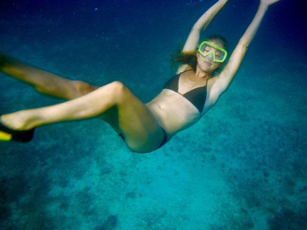 Lauren Diving