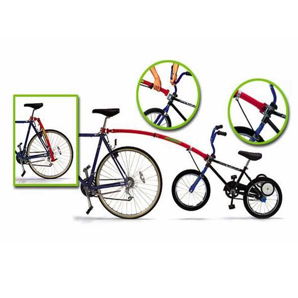 tilkobling af børnecykel med Trail Gator