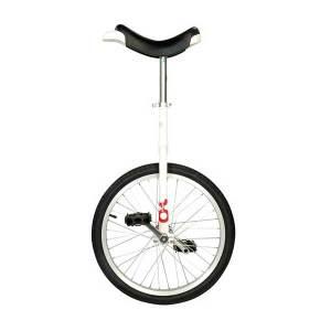 "QU-AX Unicycle OnlyOne 20"" -¨Hvid"