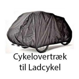Cykelovertræk/ regnslag til ladcykel