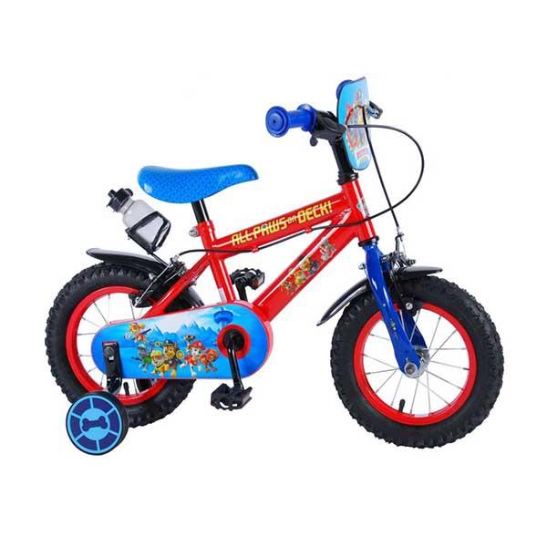 """Paw Patrol cykel 12"""" med støttehjul og håndbremser"""