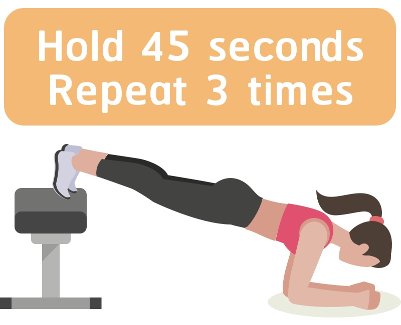 Strength training woman core workout #3