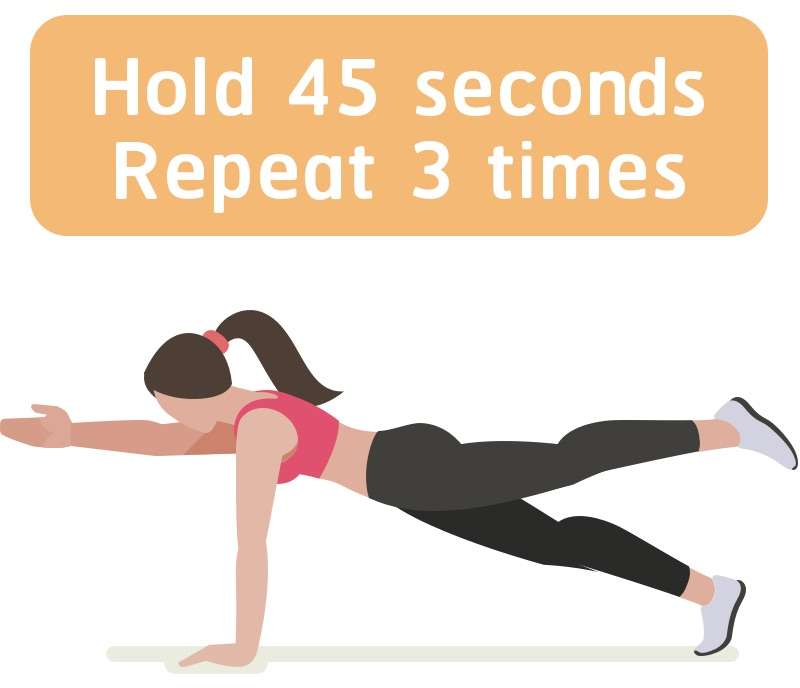 Strength training woman core workout #6