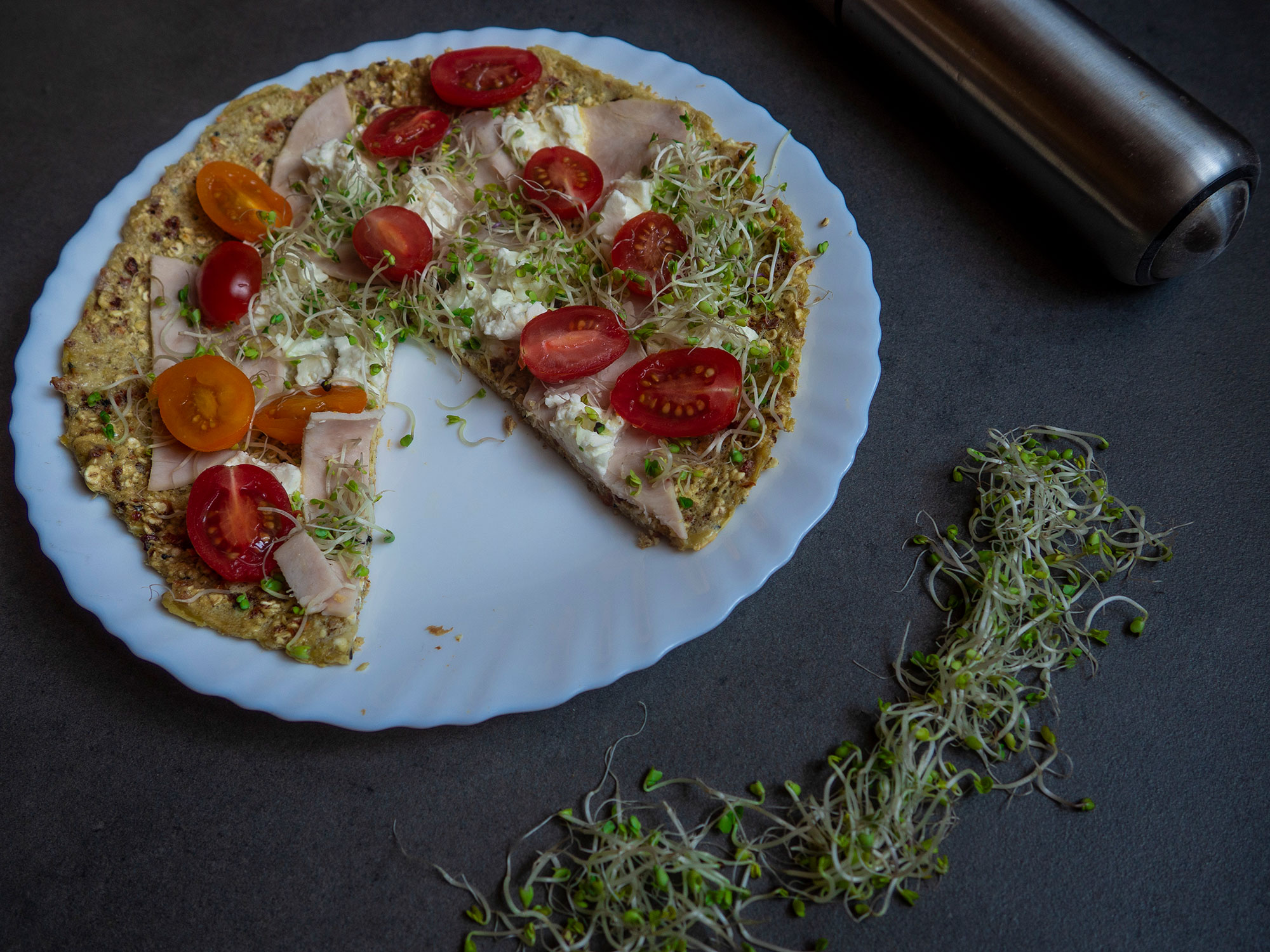 Oat Pizza Dinner
