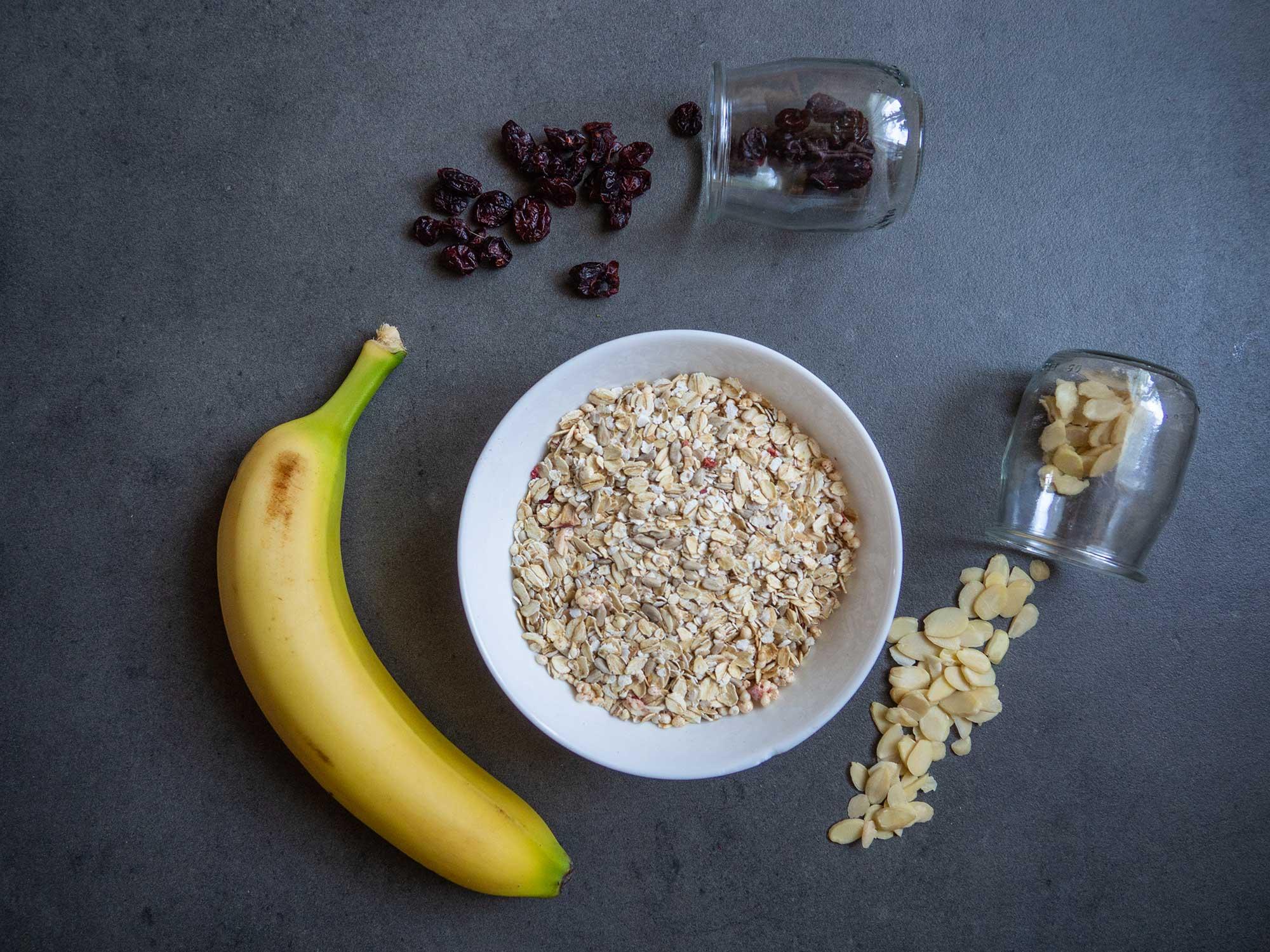 Cranberry Oat Cookies ingredients