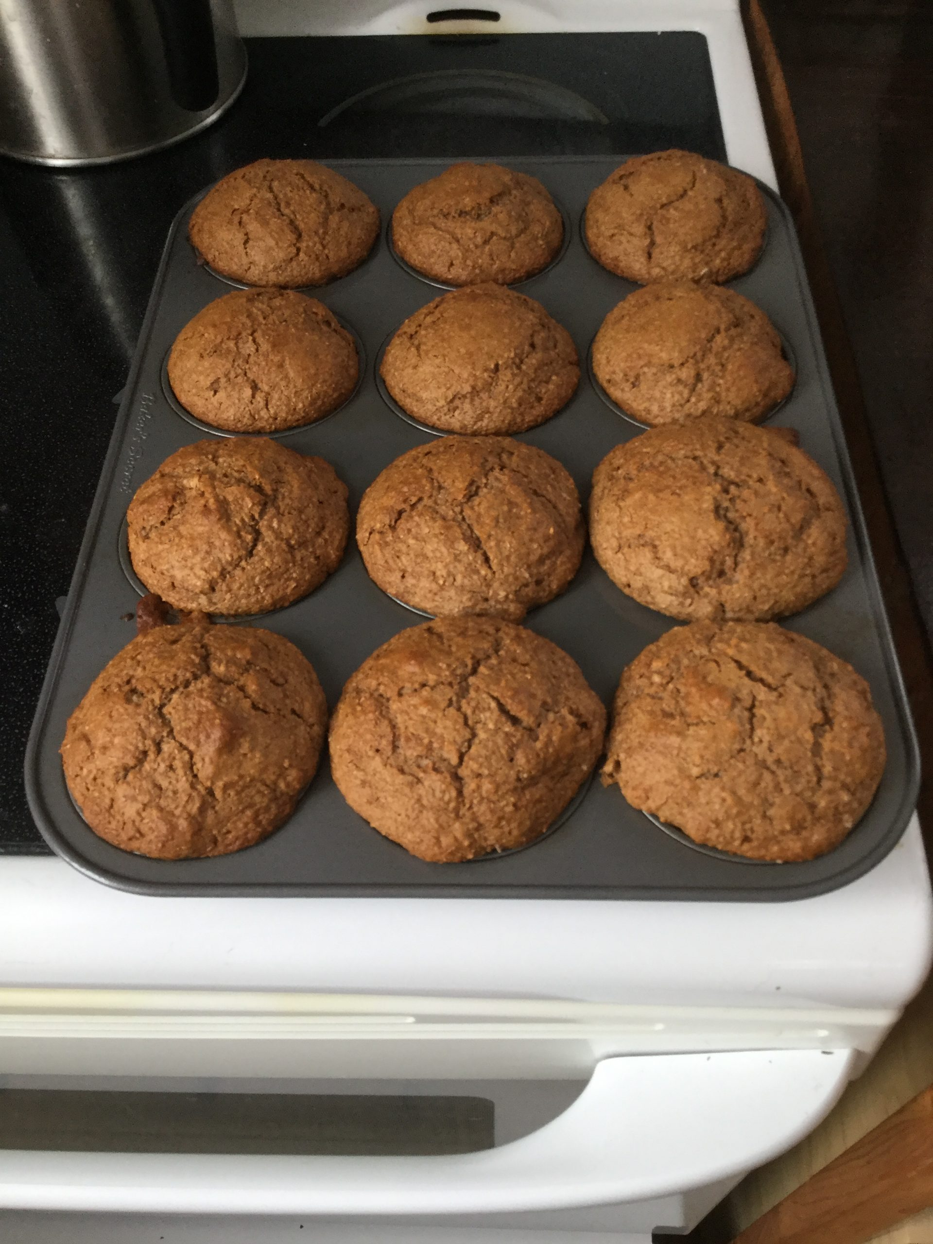 Sourdough Bran Muffins