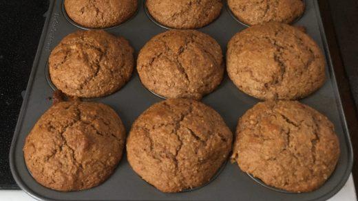 Sourdough Bran Muffins