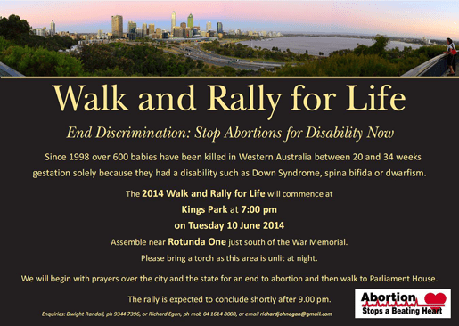 Walk and Rally for Life 2014