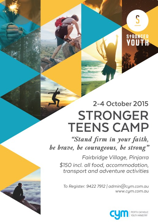 stronger teens camp white 2015