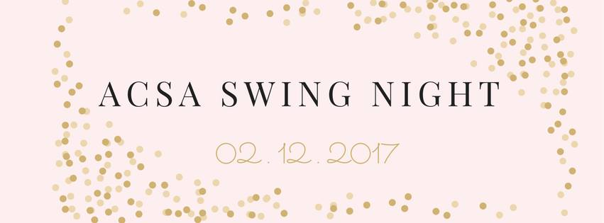 ACSA Swing Night