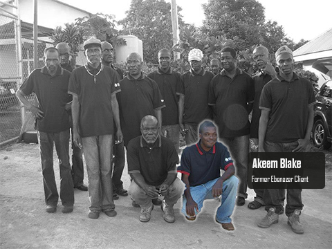 Akeem at Ebenezer Rehabilitation Centre