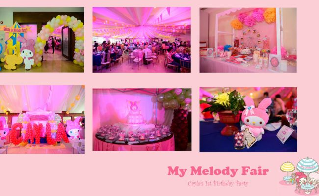 my melody fair collage