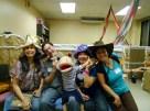 happy authors with Mateo