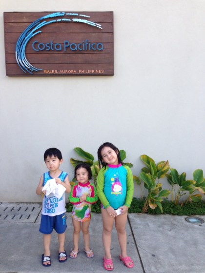 after swimming