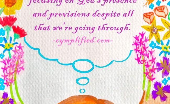 thankfulness, cymplified