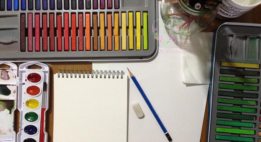 life is a watercolor materials