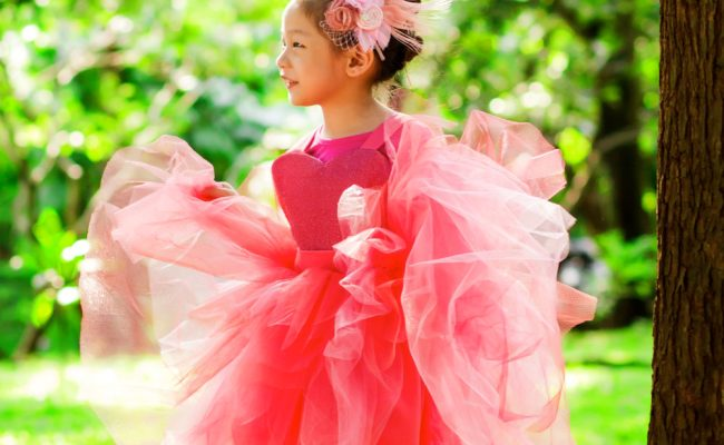 elizabeth limchu flamingo apron dress creation