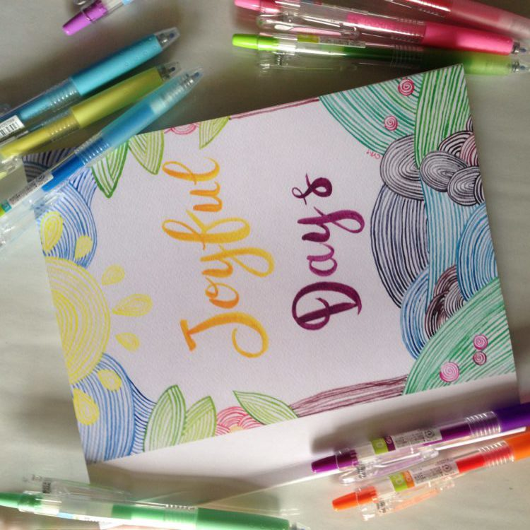 joyful days by cym planner inserts