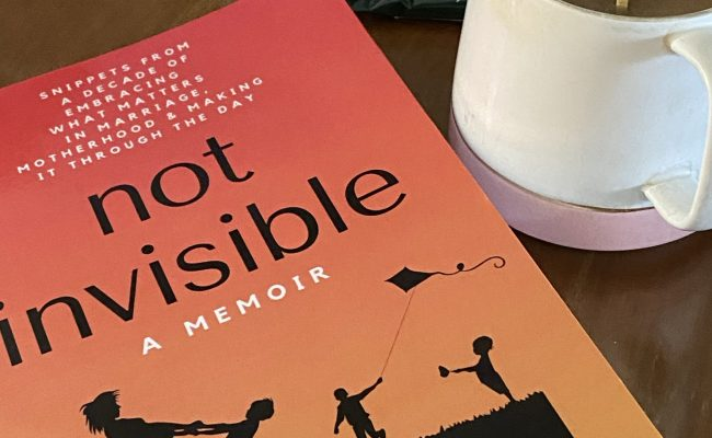 not invisible: a memoir by frances amper sales